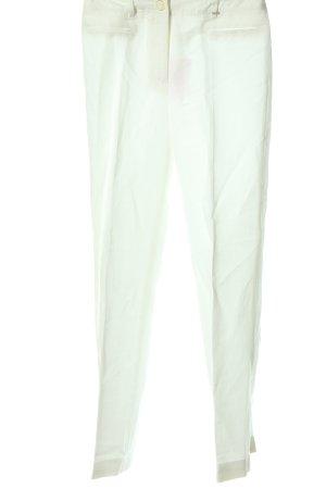 Airfield Stoffen broek wit casual uitstraling