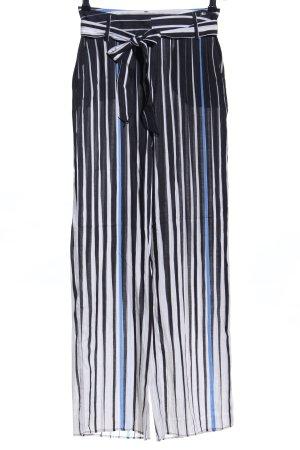 Airfield Stoffen broek volledige print elegant