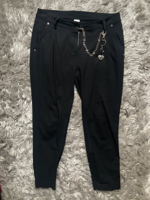Airfield Cargo Pants black-silver-colored
