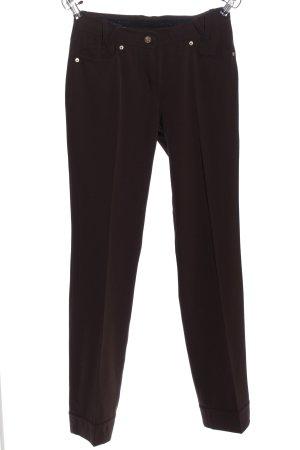 Airfield Pantalon en jersey brun style décontracté