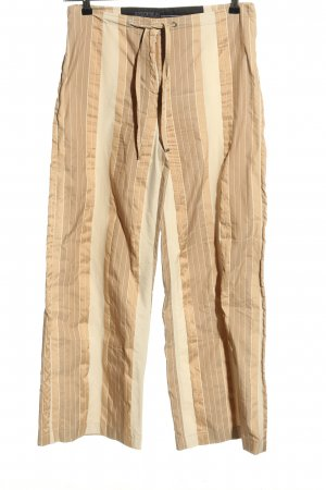 Airfield Stoffhose creme-wollweiß Allover-Druck Casual-Look