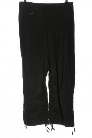 Airfield Jersey Pants black casual look