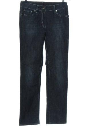 Airfield Jeans coupe-droite bleu style décontracté