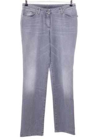 Airfield Jeans met rechte pijpen lichtgrijs casual uitstraling