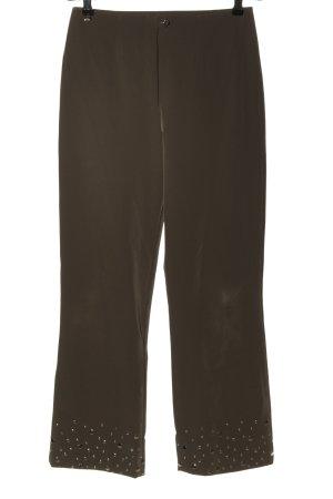 Airfield Pantalon strech brun style décontracté