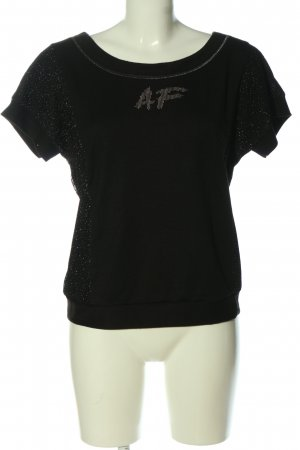 Airfield Strickshirt schwarz Casual-Look