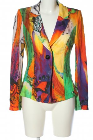 Airfield Sweat Blazer abstract pattern casual look