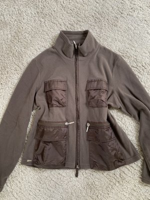 Airfield Pull polaire gris brun