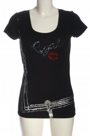 Airfield T-Shirt black casual look