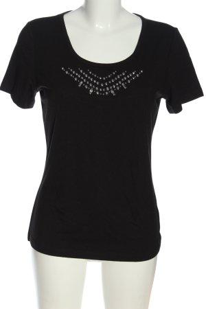 Airfield T-shirt czarny W stylu casual