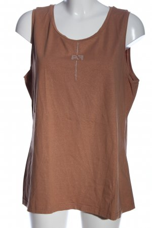 Airfield Strappy Top brown flecked casual look
