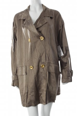Airfield Übergangsjacke beige Glanz-Optik