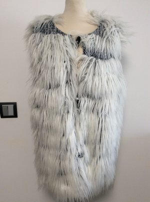 Airfield Fake Fur Vest multicolored