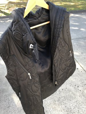 Airfield Quilted Gilet black