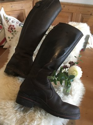 Loesdau Riding Boots taupe-dark brown