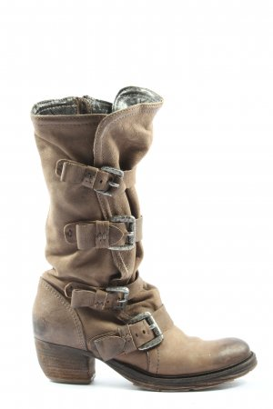 Airstep Heel Boots brown casual look