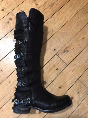 Airstep Gothic Boots black leather