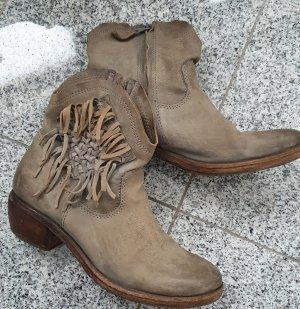 Air Step Stivaletto western talpa-marrone-grigio