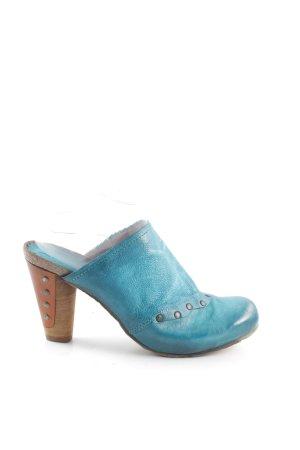 Airstep Clog Sandalen blau Casual-Look