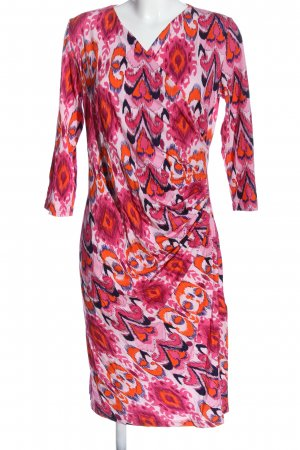 aizza Longsleeve Dress abstract pattern casual look