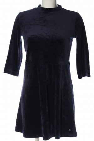 AJC A-Linien Kleid dunkelblau Casual-Look