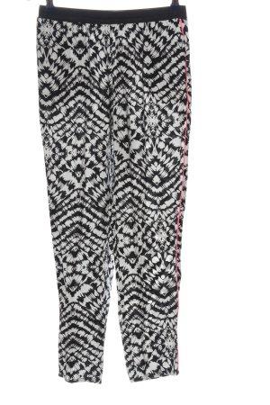 AJC Pantalon «Baggy» motif abstrait style décontracté