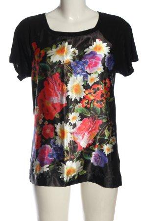 AJC Maglia batik motivo floreale stile casual