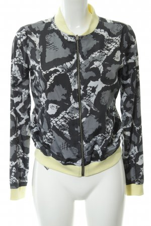 AJC Blouson abstraktes Muster Casual-Look