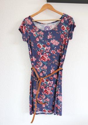 AJC Blumen Kleid Gr. S mit Gürtel Sommerkleid