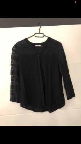 AJC Kanten blouse zwart