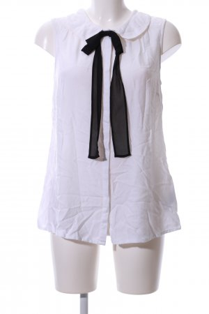 AJC Blouse Top white-black business style