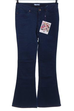 AJC Boot Cut Jeans blau Casual-Look