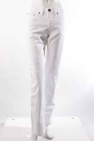 AJC Boot Cut-Jeans weiß