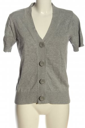 AJC Cardigan hellgrau Casual-Look