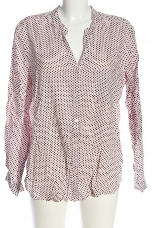 AJC Shirt Blouse natural white-black allover print casual look