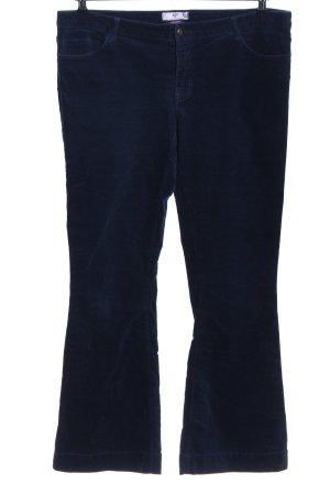 AJC High Waist Trousers blue casual look