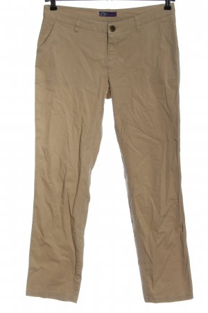 AJC Low-Rise Trousers brown casual look