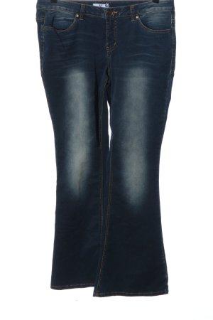 AJC Jeans a zampa d'elefante blu stile casual