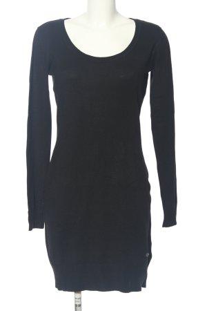 AJC Sukienka z dżerseju czarny W stylu casual