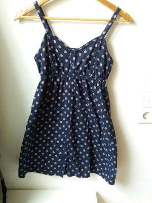AJC Kleid Blau mit Blumen 34
