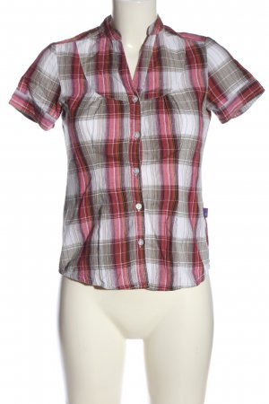 AJC Short Sleeve Shirt check pattern casual look