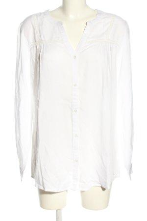 AJC Langarm-Bluse weiß Casual-Look