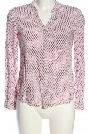 AJC Long Sleeve Shirt pink-brown allover print casual look