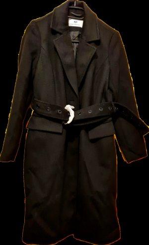 AJC Gabardina tipo vestido negro