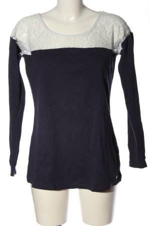 AJC Longsleeve schwarz-weiß Casual-Look