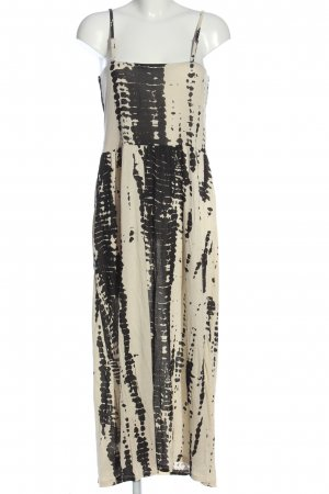 AJC Maxi Dress natural white-black abstract pattern casual look