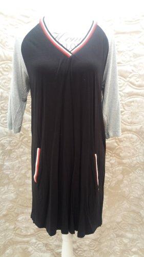 AJC Sukienka z dżerseju Wielokolorowy Wiskoza