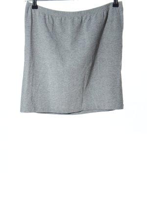AJC Mini rok lichtgrijs gestippeld casual uitstraling