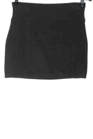 AJC Spódnica mini jasnoszary Melanżowy W stylu casual
