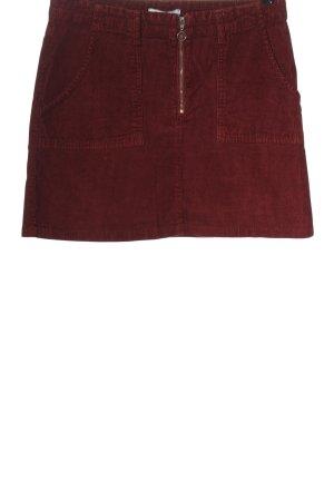 AJC Minigonna rosso stile casual